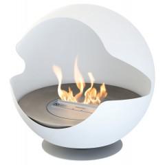 Biokamin Globe White Cast Iron Liner