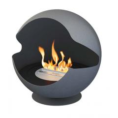 Biokamin Vauni Globe frozen grey