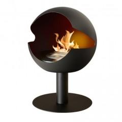 Biokamin Globe Black Cast Iron High