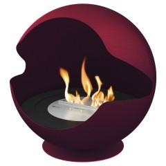Biokamin Globe Red Ember