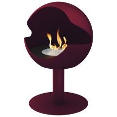 Biokamin Globe Red Cast Iron High