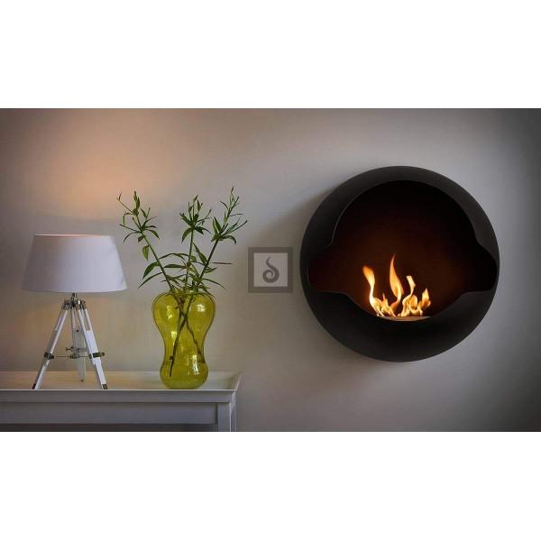 biokamin vauni cupola black ajatu ilu kaunistab igat kodu. Black Bedroom Furniture Sets. Home Design Ideas