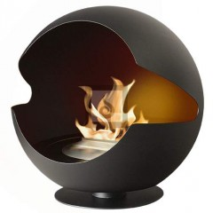 Biokamin Globe Black Cast Iron Liner